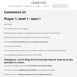 Commence ici - Changeons