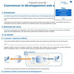 Commencer le développement web avec Java EE - Tutoriel Java EE