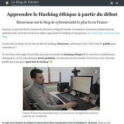 Le blog du hacker : diverses infos pour se protéger.