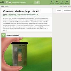 Comment abaisser le pH du sol: 17 étapes