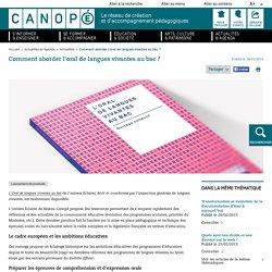Comment aborder l'oral de langues vivantes au bac ? - Réseau Canopé