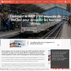 Comment la RATP s'est emparée de WeChat pour accueillir les touristes chinois