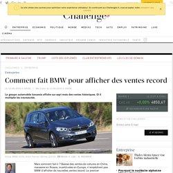 Comment fait BMW pour afficher des ventes record