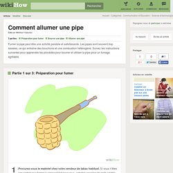 Comment allumer une pipe: 19 étapes