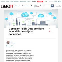 Comment le Big Data améliore le modèle des objets connectés