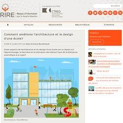 Comment améliorer l'architecture et le design d'une école?