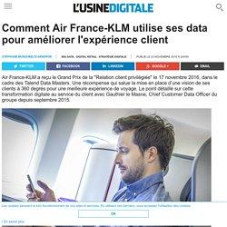Comment Air France-KLM utilise ses data pour améliorer l'expérience client