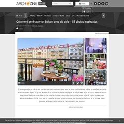Comment aménager un balcon avec du style - 55 photos inspirantes