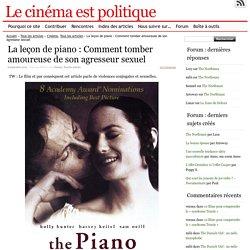 La leçon de piano : Comment tomber amoureuse de son agresseur sexuel