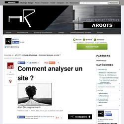 Comment analyser un site ?