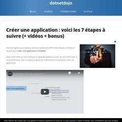 Comment créer une application : 7 étapes à suivre (+ vidéos)