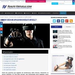 Comment créer une application en réalité virtuelle ?