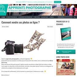 Comment vendre ses photos en ligne ?