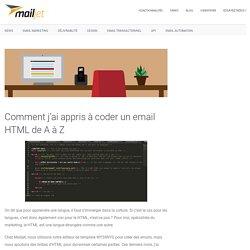 Comment j'ai appris à coder un email HTML de A à Z