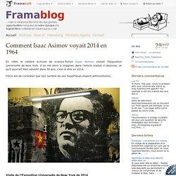 Comment Isaac Asimov voyait 2014 en 1964