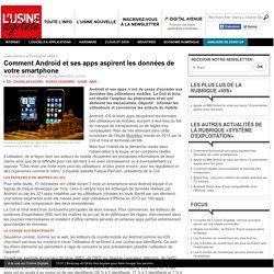 Comment Android et ses apps aspirent les données de votre smartphone