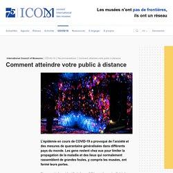 Comment atteindre votre public à distance - ICOM - ICOM