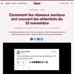 Comment les réseaux sociaux ont couvert les attentats du 13 novembre
