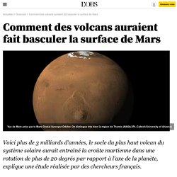Comment des volcans auraient fait basculer la surface de Mars - 2 mars 2016