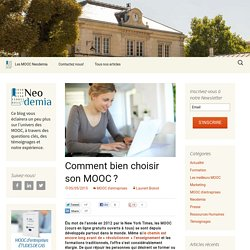 Comment bien choisir son MOOC ?