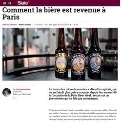 Comment la bière est revenue à Paris