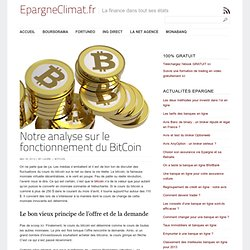Comment le cours du bitcoin est-il defini ? - EpargneClimat.fr