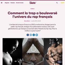 Comment la trap a bouleversé l'univers du rap français