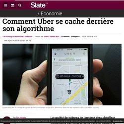 Comment Uber se cache derrière son algorithme