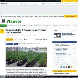 LE MONDE PLANETE 22/01/15 Comment des OGM cachés arrivent sur le marché