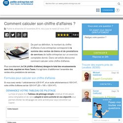 04/ Comment calculer son CA ?