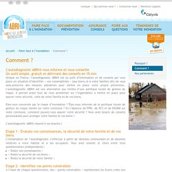 Comment ? - Calyxis - L'habitat face au risque inondation