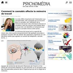 Comment le cannabis affecte la mémoire de travail