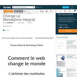 Comment Le Web Change Le Monde(livre integral)