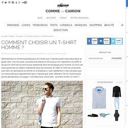 Comment choisir un t-shirt homme ?