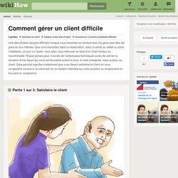 Comment gérer un client difficile: 13 étapes
