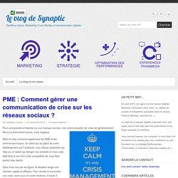 PME : Comment gérer une communication de crise sur les réseaux sociaux ? -