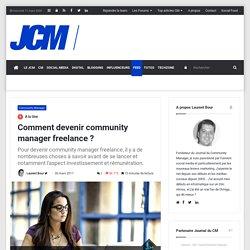 Comment devenir community manager freelance ?