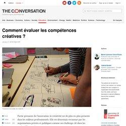 13 items, 4 étapes - Comment évaluer les compétences créatives?