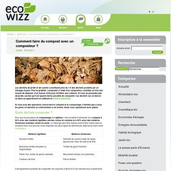 Compost best practices garden pearltrees - Faire du compost en appartement ...
