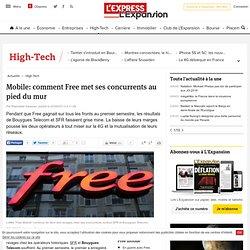 Mobile: comment Free met ses concurrents au pied du mur