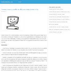 Comment trouver le numéro de série pour Adobe Acrobat 9 Pro / condexatedenbay.com