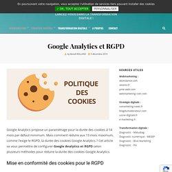 Comment configurer les cookies Google Analytics pour le RGPD