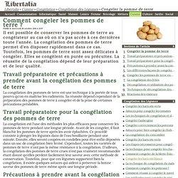 Cuisine pearltrees - Comment conserver pomme de terre ...
