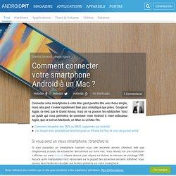 Comment connecter votre smartphone Android à un Mac