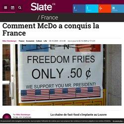 Comment McDo a conquis la France