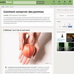 Comment conserver des pommes: 13 étapes