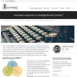 Comment construire sa stratégie de Brand Content