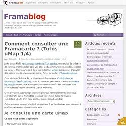 Comment consulter une Framacarte ? (Tutos uMap 1/4)