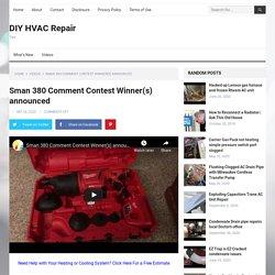 Sman 380 Comment Contest Winner(s) announced