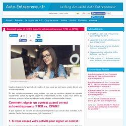 Comment signer un contrat quand on est auto-entrepreneur ?